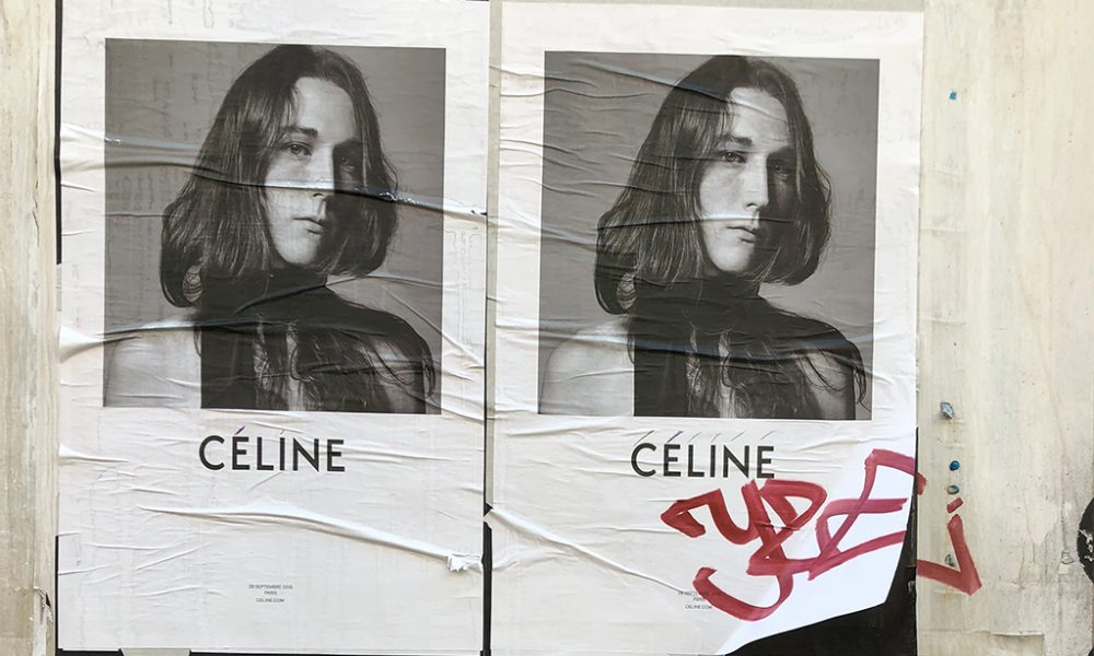 2a8710456b4 What Slimane s Celine takeover means for female designers in fashion.  Share. Tweet. Pin. Location