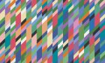 Bridget Riley abstract painting entitled High Sky, 1991