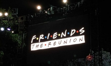Image used to announce the Friends reunion