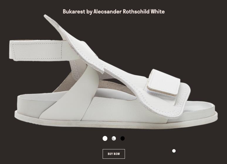 Screenshot of Bukarest shoe