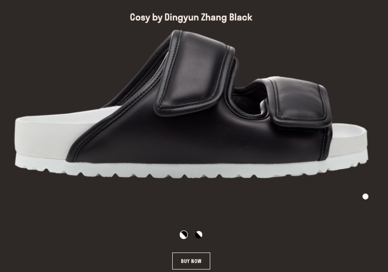 Cosy shoe designed by Dingyun Zhang