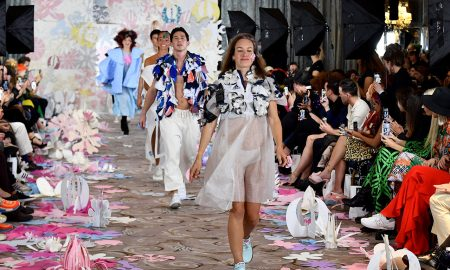 Vin and Omi's SS22 show at London Fashion Week